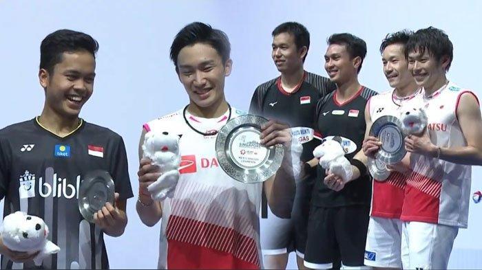 Daftar Lengkap Juara Singapore Open 2019 - Jepang Borong 3 Gelar, Ahsan/Hendra & Anthony Runner Up