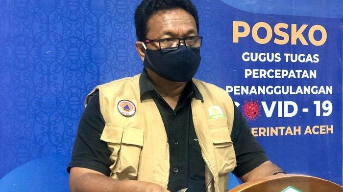 Total Kasus Positif Covid-19 Aceh Capai9.018 Orang