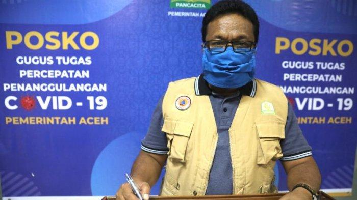 Kasus Positif Covid-19 di Aceh Capai9.399 Orang, 380 di Antaranya Meninggal, Berikut Data Lengkap