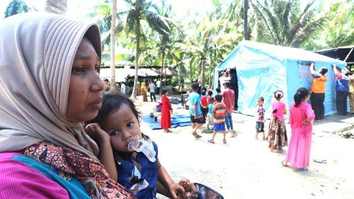 Kebakaran di Lhokseumawe, Juliana Gendong Bayi Terobos Kobaran Api