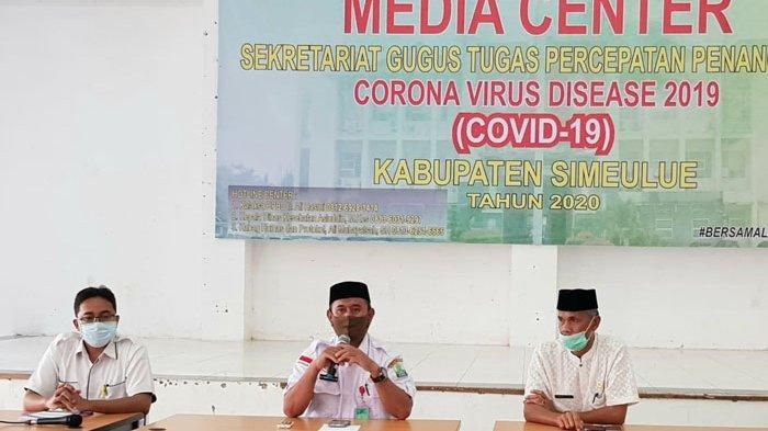 Seorang Pasien Reaktif Covid-19 Tolak Diisolasi di RSUD Simeulue, Musyawarah Libatkan Polisi