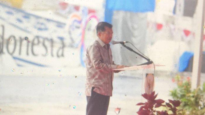 Jusuf Kalla: Hujan Badai, Tapi tak Satu Pun Kapal di Teluk Sabang yang Goyang