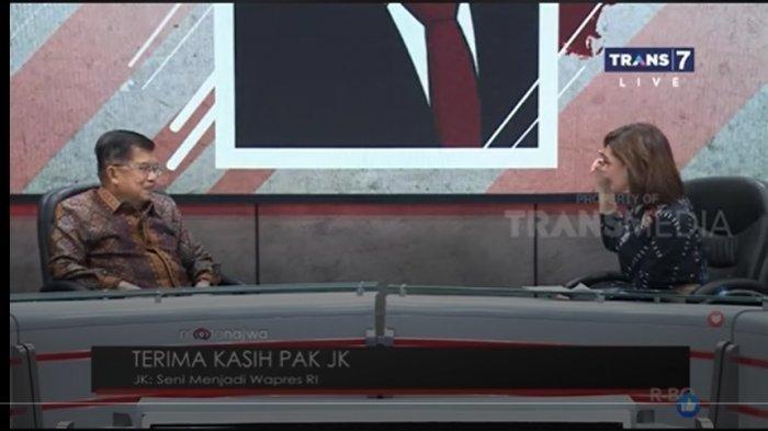 Najwa Shihab Tanya Terkait Meme Beli 01 Gratis 02, soal Jokowi-Prabowo, Begini Tanggapan Jusuf Kalla