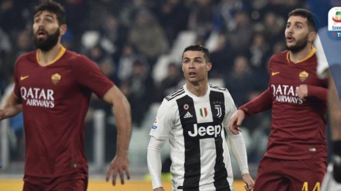 Hasil Liga Italia - AS Roma Mandul Parah