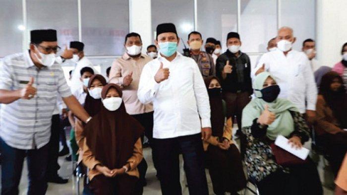 Bupati Aceh Besar Dukung Percepatan Vaksinasi Anak Usia Sekolah