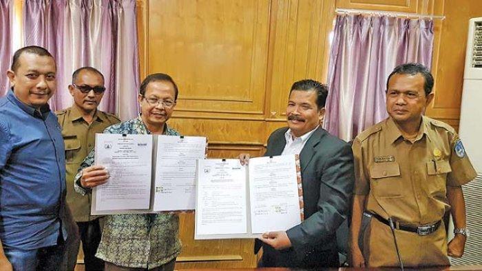 Serambi Indonesia dan Langsa Teken MoU