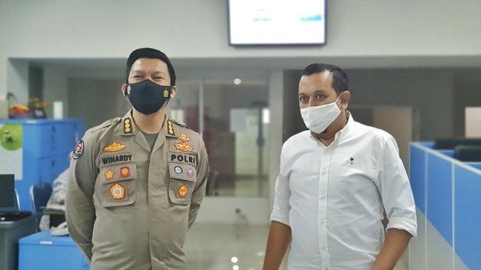 Kabid Humas Polda Aceh Silaturahmi ke Serambi Indonesia