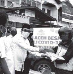 Kadin Salurkan Bantuan di Aceh Besar