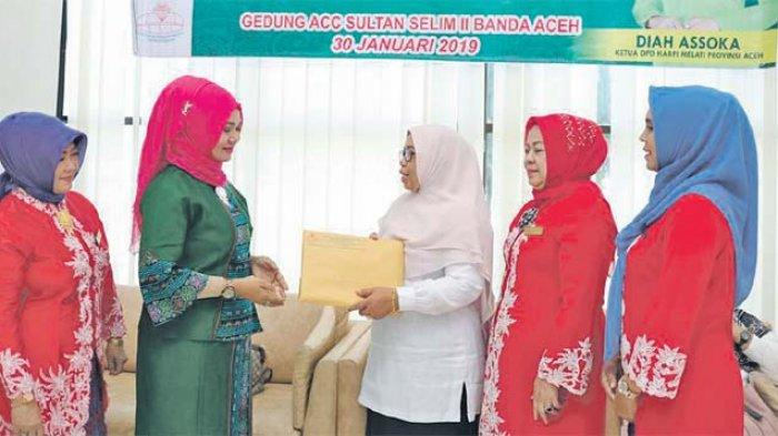 Tata Rias Aceh Berkerudung Dipakemkan Secara Nasional