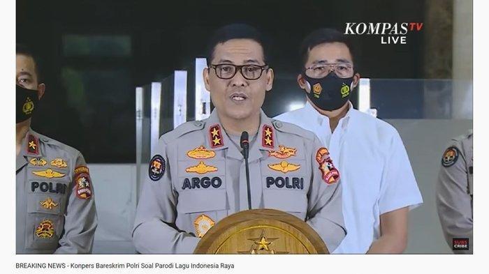Polisi Dalami Motif Bocah SMP Pembuat Parodi Lagu Indonesia Raya