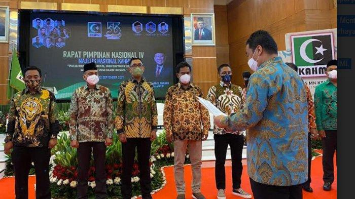 Senator Aceh Fachrul Razi Dilantik jadi Pengurus MN KAHMI