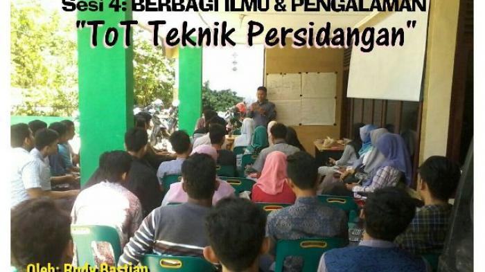 KAHMI Aceh Tiga  Minggu Berbagi Ilmu