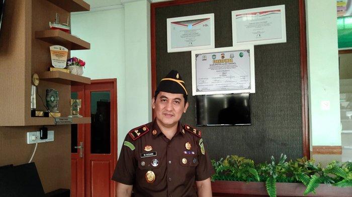 Kejari Tetapkan Staf Ahli Bupati Aceh Singkil Tersangka Korupsi DOKA, Tersangkut Saat Jadi Kadinsos