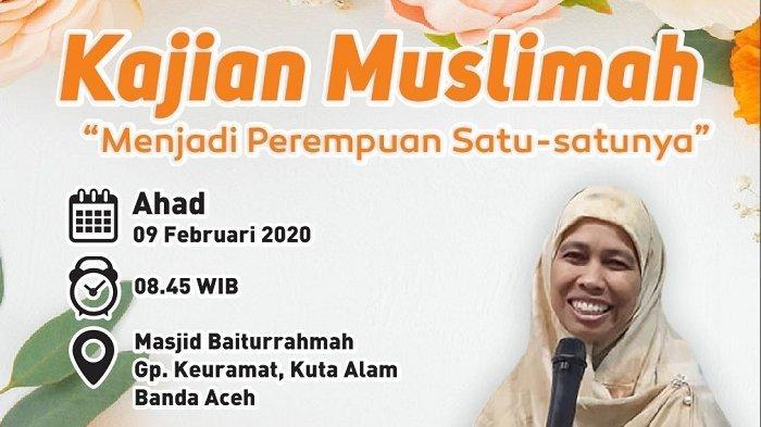 Tertarik Menjadi Perempuan Satu-Satunya? Yuk Ikut Kajian Muslimah Bersama Ummi Mulia