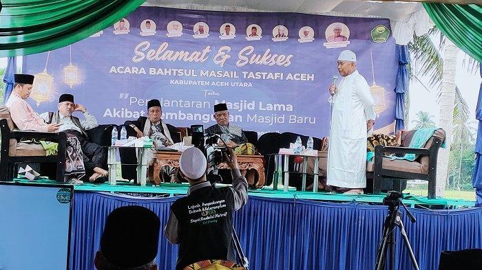 Lima Ulama Aceh Sampaikan Hasil Kajian Soal Pembangunan Masjid Baru, Begini Kesimpulannya