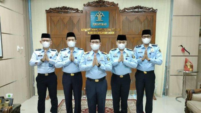 Menkumham Beri Remisi Khusus Idul Fitri 1442 Hijrah kepada 4.833 Napi di Aceh
