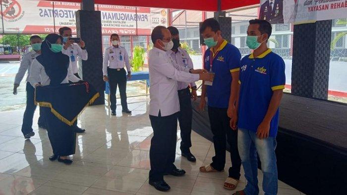 60 Napi di LP Kelas II A Banda Aceh Jalani Rehabilitasi Narkoba
