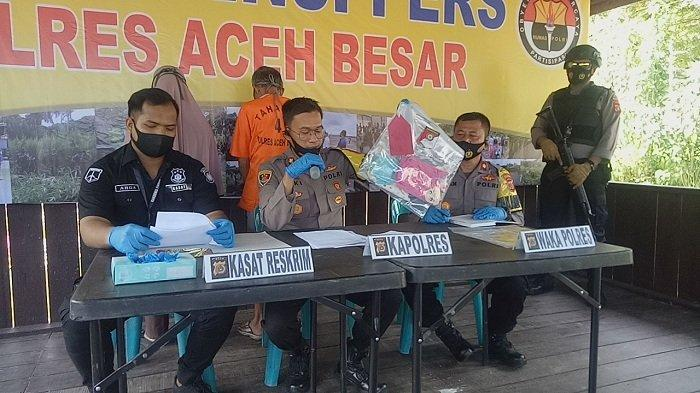 Bejat! Kakek 74 Tahun Asal Montasik, Aceh Besar Cabuli 4 Anak di Bawah Umur, Termasuk Saudaranya