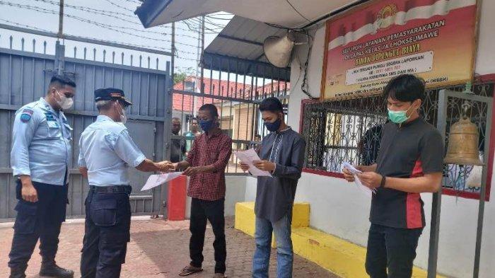 Tiga Napi Lapas Lhokseumawe Dibebaskan untuk Menjalani Pembebasan Bersyarat