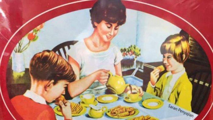 Soal Lukisan Keluarga di Kaleng Biskuit Khong Guan Tanpa Ayah, Ini Jawaban Pelukisnya