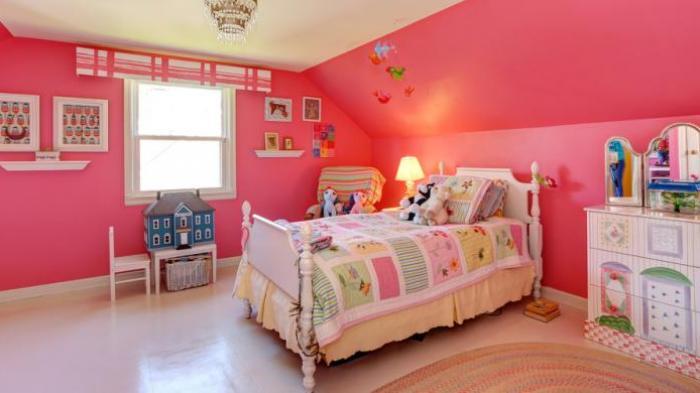 Kamar Anak Sebaiknya Dicat Warna Cerah