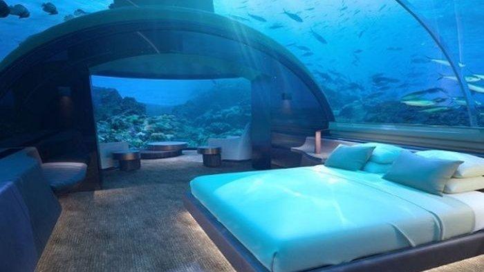 Vila Bawah Laut Pertama di Dunia Segera Jadi Penginapan Menarik di Maldives