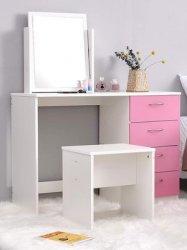 Ilustrasi meja di kamar