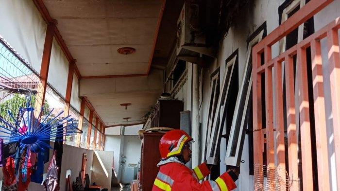 Kamar Rumah Dosen UIN Ar Raniry di Bandar Baru Terbakar, Ini Dugaan Sumber Api