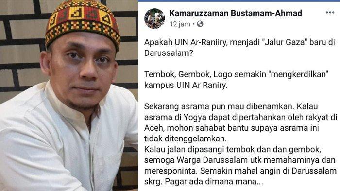 'Surat Cinta' Rektor Unsyiah kepada Asrama Putri UIN Ar-Raniry Hebohkan Insan Kampus Darussalam