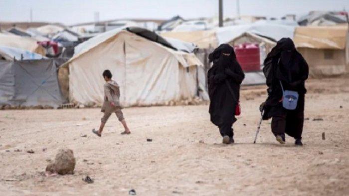 Kamp Pengungsi Suriah, Tempat Ribuan Keluarga ISIS Mengungsi Diserang Virus Corona