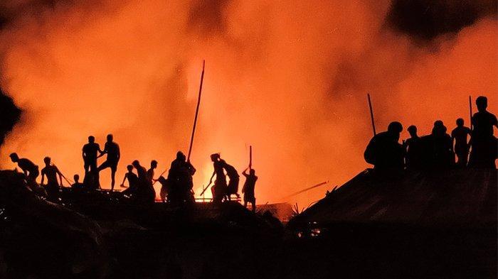 Kamp Rohingya di Cox's Bazar Kembali Terbakar, Hancurkan 60 Tenda