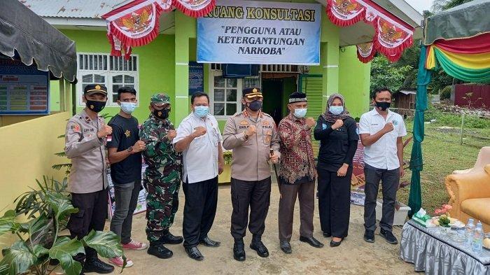 Kapolres Aceh Timur Launching Kampung Tangguh Antinarkoba