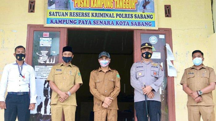 Wali Kota Bersama Kapolres Sabang Kunjungi Kampung Tangguh