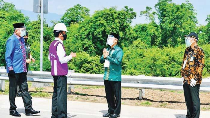 Presiden Apresiasi Pemerintah dan Masyarakat Aceh Besar atas Dukungan Pembebasan Lahan Tol Tercepat