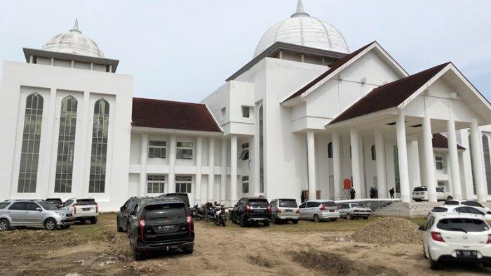 PembangunanKantorBaru Bupati dan DPRK Aceh UtaraButuh Enam Tahun, Sempat Terhenti Pada Tahun 2019