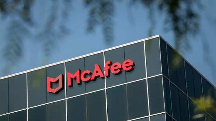 Kantor McAfee di Santa Clara, California, AS