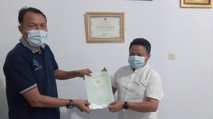 Kantor Pertanahan Aceh Besar Serahkan Sertifikat Hak Pakai Pulau Rusa kepada BPSPL