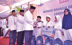 Kanwil BRI Banda Aceh Buka Puasa Bersama dan Santuni Anak Yatim