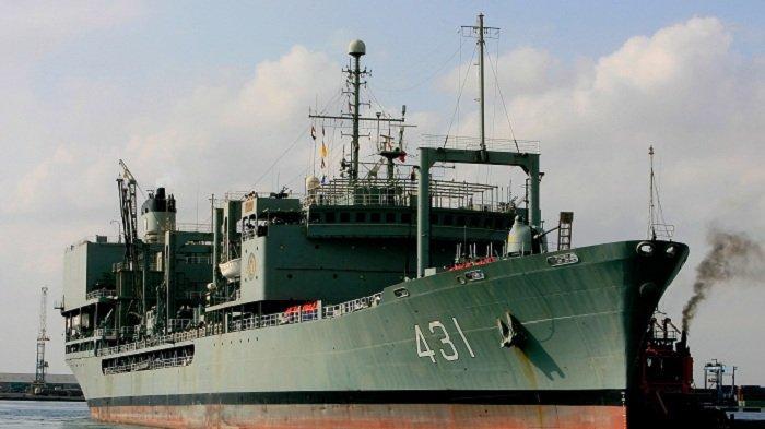 Kapal Perang Terbesar Milik Iran Terbakar, Penyebabnya Masih Diselidiki
