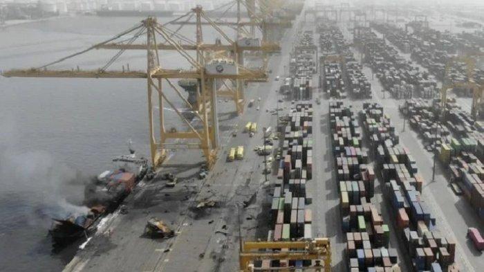 Luar Biasa Dubai Berhasil Padamkan Kebakaran Besar di Kapal Barang, Hanya 40 Menit