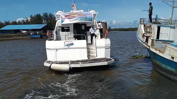 Kapal Cepat Milik Pemkab Aceh Singkil Mulai Melayani Pelayaran Singkil-Pulau Banyak