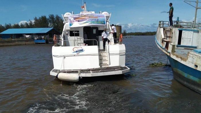 Hari Ini, Kapal Cepat Milik Pemkab Aceh Singkil Mulai Melayani Pelayaran Singkil-Pulau Banyak