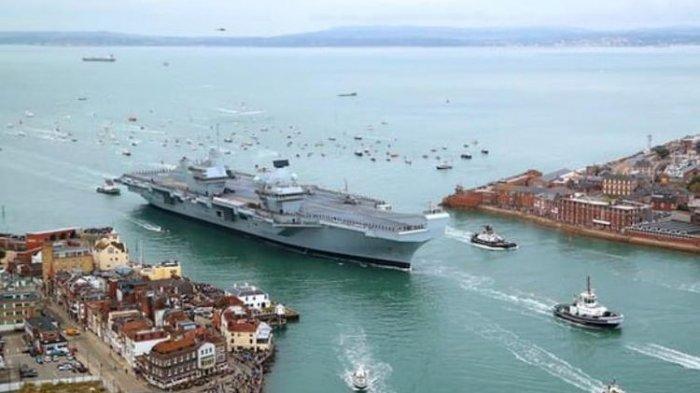 Kelompok Serang Kapal Induk Inggris Siap Menuju Jepang dan Korea, Bakal Lewati Laut China Selatan