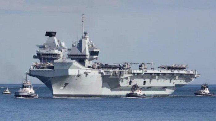 China Peringatkan Inggris, Sekelompok Kapal Induk dan Perang Mendekati Laut China Selatan