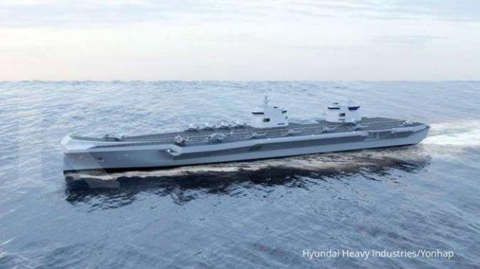 Korea Selatan Rancang Kapal Induk, Mirip Dengan HMS Queen Elizabeth dari Inggris