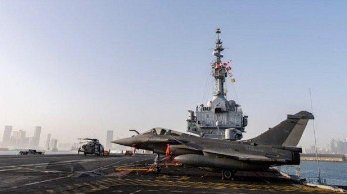 Kapal Induk Prancis Charles de Gaulle Berlabuh di Abu Dhabi, Jaga Perairan Mediterania Timur