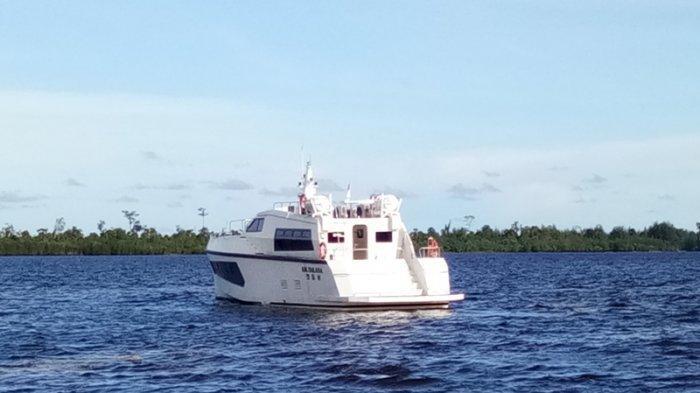Pengurusan Izin Terhambat Corona, Kapal Milik Pemkab Aceh Singkil belum Dipakai, Warna Sudah Memudar