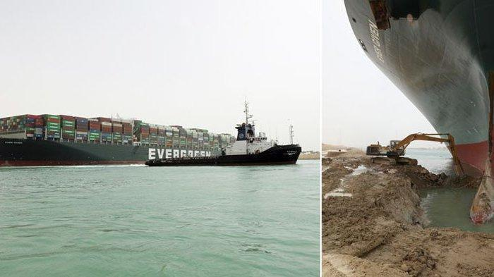 Kapal MV Ever Given Berhasil Dibebaskan dari Terusan Suez, Tapi Awak Kapal Bakal Dapat Masalah Baru