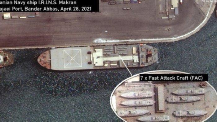 AS Tuduh Kapal Perang Iran Berkecepatan Tinggi Sedang Menuju Venezuela
