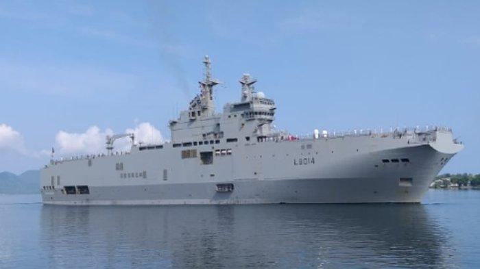 Kapal Perang Prancis Masih Sandar di Teluk Sabang
